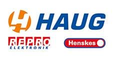 Logo Haug Gruppe weis
